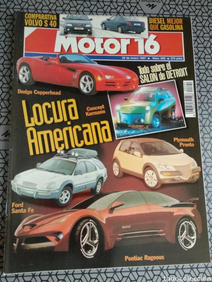 Coleccionismo de Revistas y Periódicos: Lote 50 revistas Motor 16 año 1997 - Foto 37 - 174488927