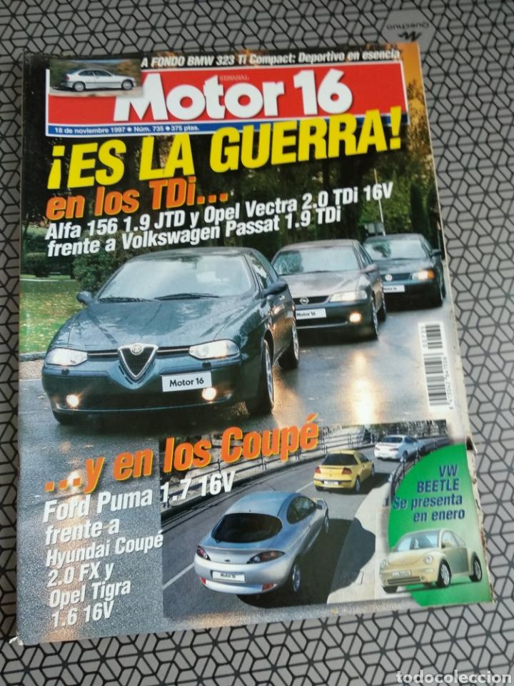 Coleccionismo de Revistas y Periódicos: Lote 50 revistas Motor 16 año 1997 - Foto 38 - 174488927
