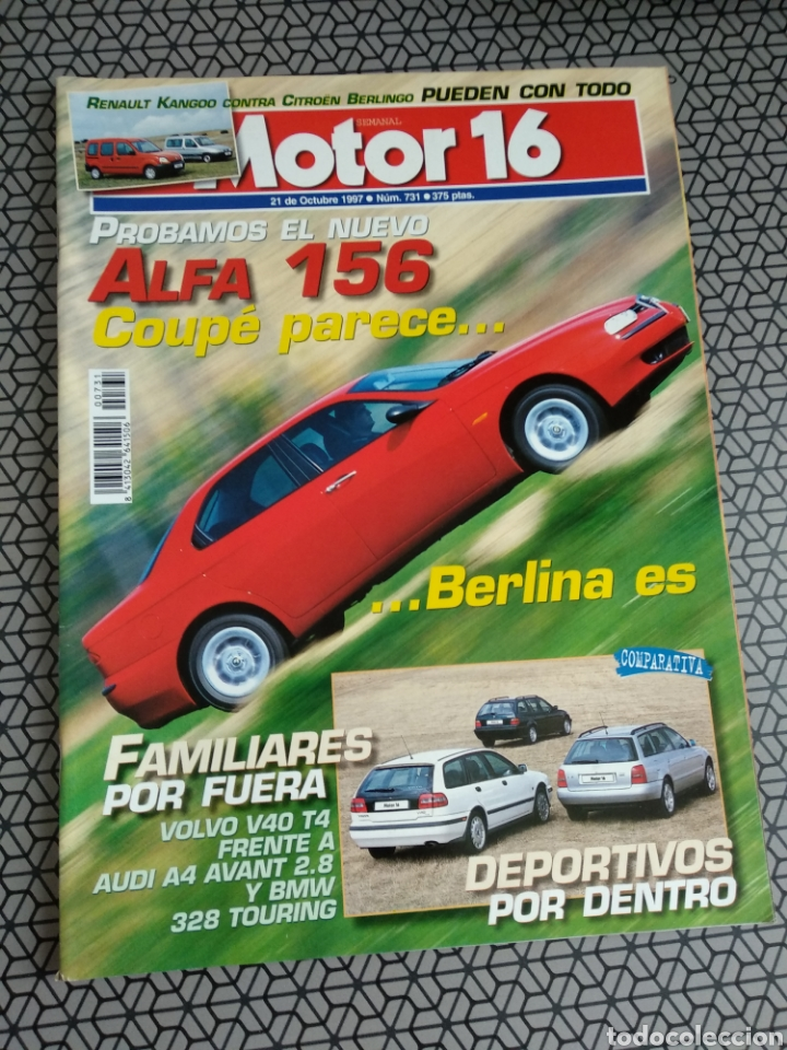 Coleccionismo de Revistas y Periódicos: Lote 50 revistas Motor 16 año 1997 - Foto 39 - 174488927
