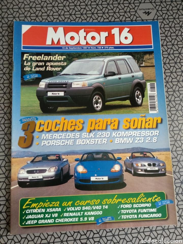 Coleccionismo de Revistas y Periódicos: Lote 50 revistas Motor 16 año 1997 - Foto 40 - 174488927