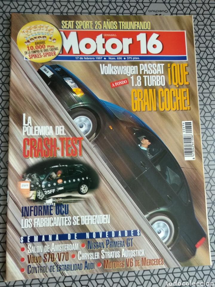 Coleccionismo de Revistas y Periódicos: Lote 50 revistas Motor 16 año 1997 - Foto 42 - 174488927