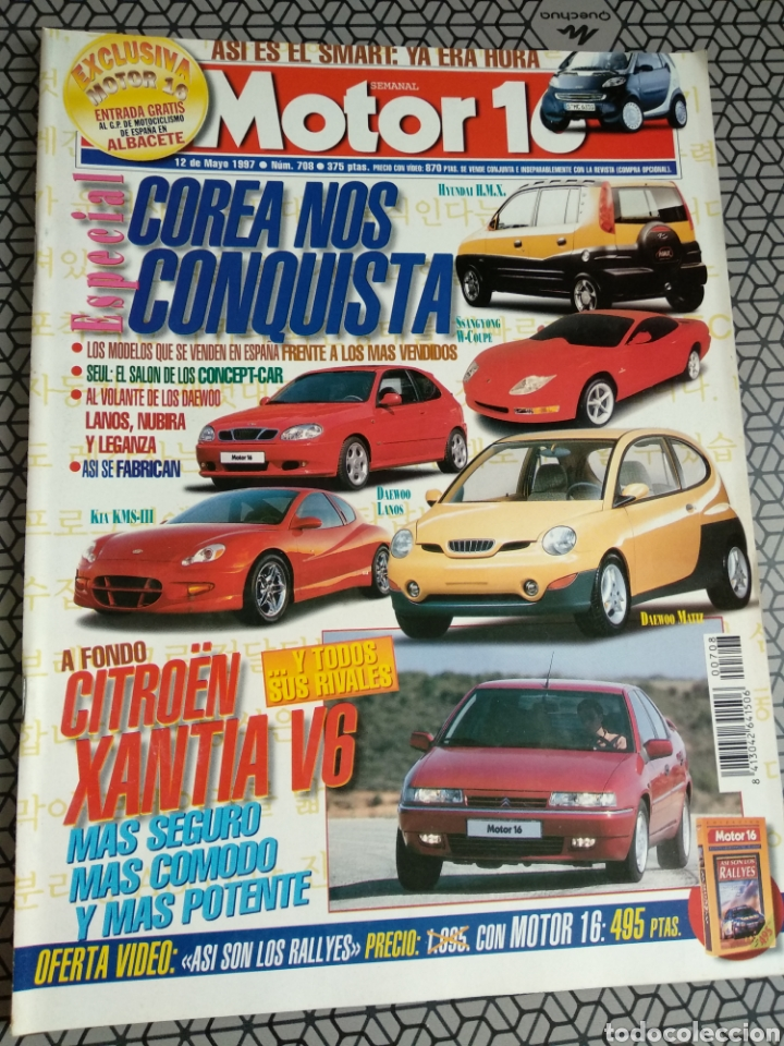 Coleccionismo de Revistas y Periódicos: Lote 50 revistas Motor 16 año 1997 - Foto 43 - 174488927