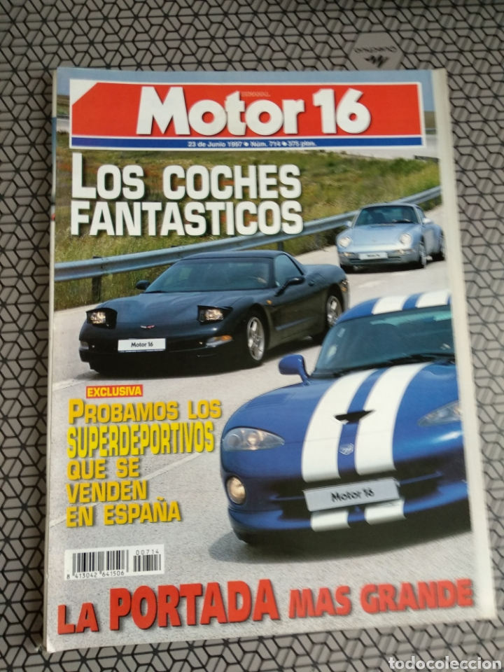 Coleccionismo de Revistas y Periódicos: Lote 50 revistas Motor 16 año 1997 - Foto 48 - 174488927
