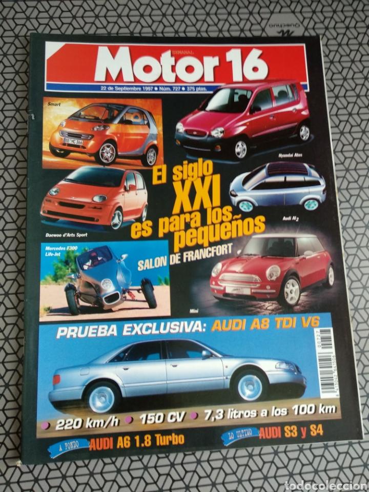 Coleccionismo de Revistas y Periódicos: Lote 50 revistas Motor 16 año 1997 - Foto 49 - 174488927
