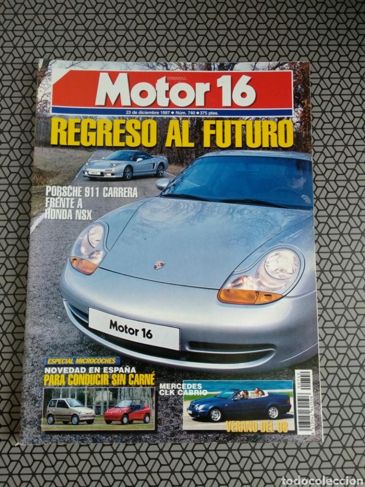 Coleccionismo de Revistas y Periódicos: Lote 50 revistas Motor 16 año 1997 - Foto 51 - 174488927