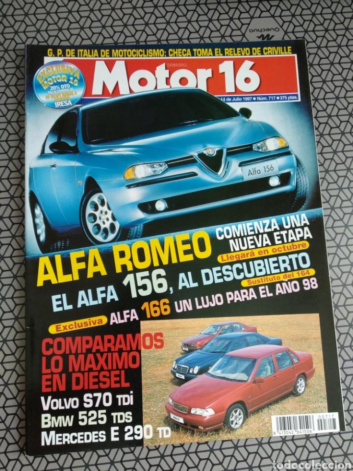 Coleccionismo de Revistas y Periódicos: Lote 50 revistas Motor 16 año 1997 - Foto 2 - 174488927