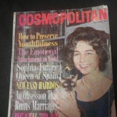 Coleccionismo de Revistas y Periódicos: COSMOPOLITAN 1962. Lote 174491800