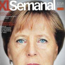 Coleccionismo de Revistas y Periódicos: REVISTA XL SUPLEMENTO DE ABC SEMANAL Nº 1258 EL ENIGMA DE MERKEL REV0484. Lote 174511912