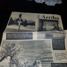 Coleccionismo de Revistas y Periódicos: PERIÓDICO FALANGE ARRIBA ESPAÑA DOMINGO 4 DE MARZO DE 1951. Lote 174514635