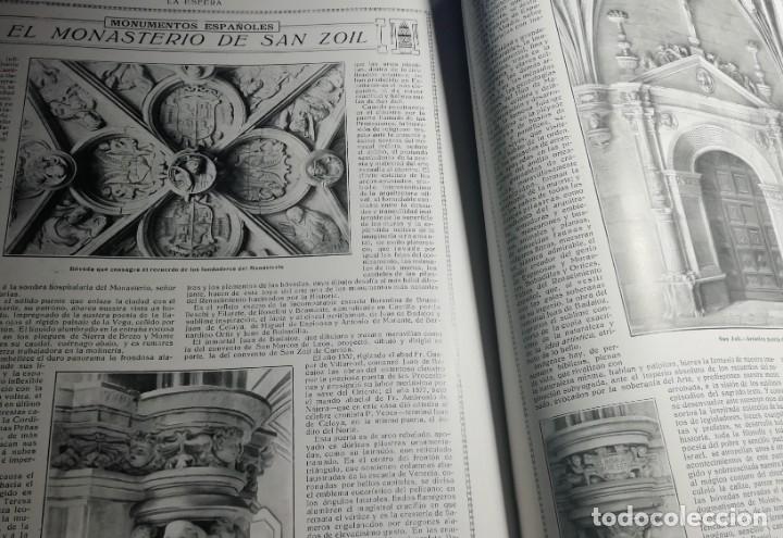Coleccionismo de Revistas y Periódicos: LA ESFERA 1916 MONASTERIO DE SAN ZOILO carrion DE LOS CONDES - Foto 2 - 174517437