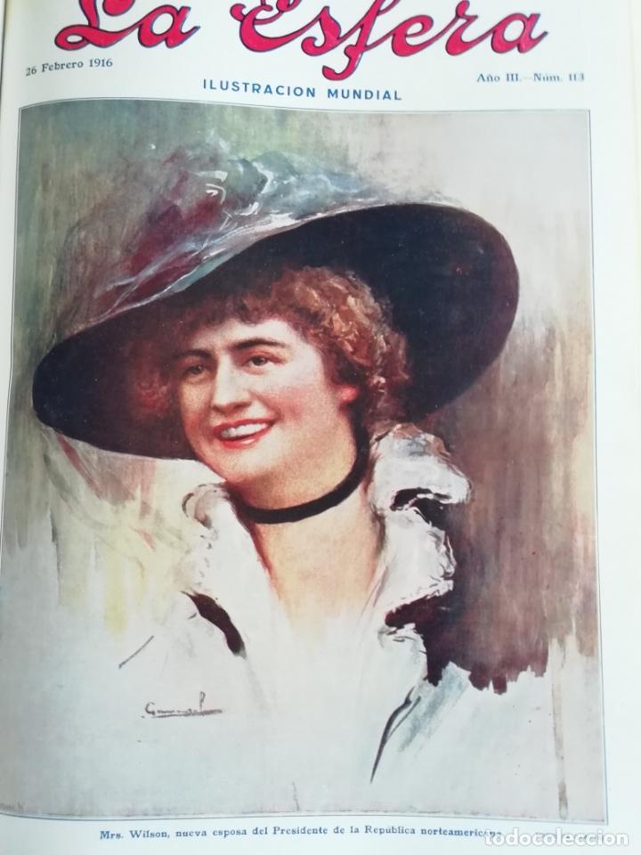 LA ESFERA 1916 MONASTERIO DE SAN ZOILO CARRION DE LOS CONDES (Coleccionismo - Revistas y Periódicos Antiguos (hasta 1.939))