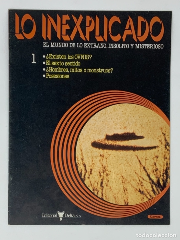 LO INEXPLICADO Nº 1, 3, 4, 5 (Coleccionismo - Revistas y Periódicos Modernos (a partir de 1.940) - Otros)