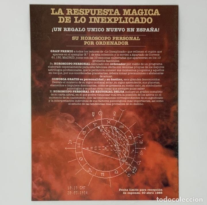 Coleccionismo de Revistas y Periódicos: LO INEXPLICADO Nº 1, 3, 4, 5 - Foto 2 - 174517979