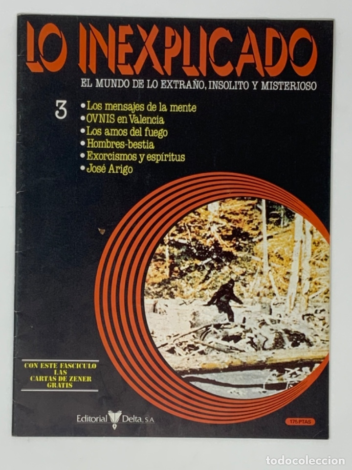 Coleccionismo de Revistas y Periódicos: LO INEXPLICADO Nº 1, 3, 4, 5 - Foto 5 - 174517979