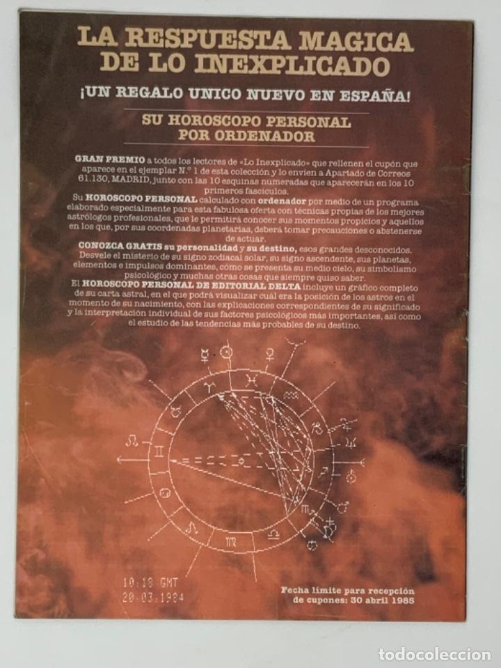 Coleccionismo de Revistas y Periódicos: LO INEXPLICADO Nº 1, 3, 4, 5 - Foto 6 - 174517979