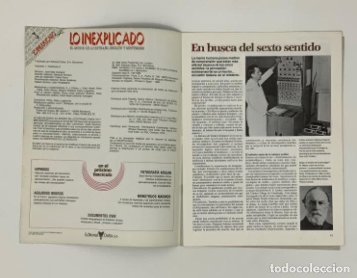 Coleccionismo de Revistas y Periódicos: LO INEXPLICADO Nº 1, 3, 4, 5 - Foto 7 - 174517979