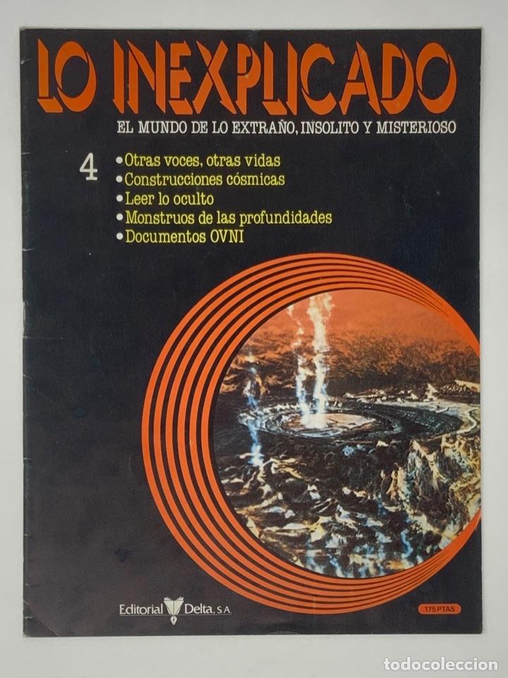 Coleccionismo de Revistas y Periódicos: LO INEXPLICADO Nº 1, 3, 4, 5 - Foto 9 - 174517979