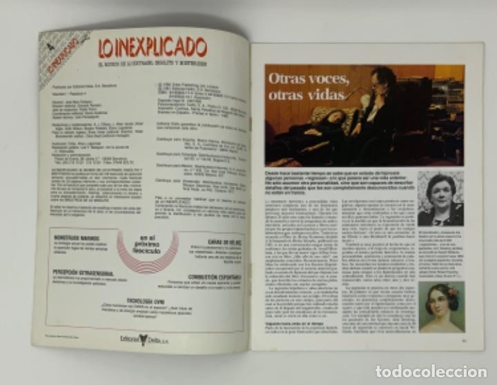 Coleccionismo de Revistas y Periódicos: LO INEXPLICADO Nº 1, 3, 4, 5 - Foto 11 - 174517979