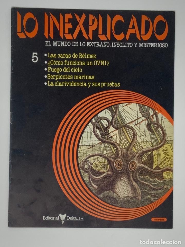 Coleccionismo de Revistas y Periódicos: LO INEXPLICADO Nº 1, 3, 4, 5 - Foto 13 - 174517979