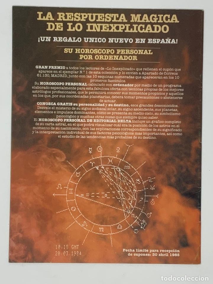 Coleccionismo de Revistas y Periódicos: LO INEXPLICADO Nº 1, 3, 4, 5 - Foto 14 - 174517979