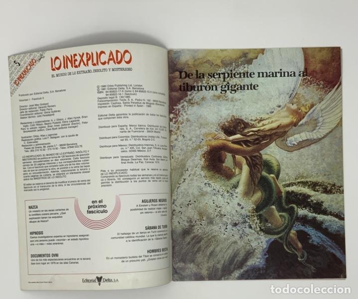 Coleccionismo de Revistas y Periódicos: LO INEXPLICADO Nº 1, 3, 4, 5 - Foto 15 - 174517979