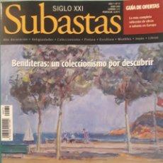 Coleccionismo de Revistas y Periódicos: REVISTA SUBASTAS SIGLO XXI. Lote 174547503