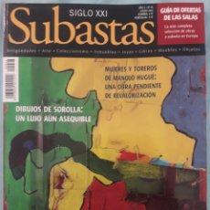 Coleccionismo de Revistas y Periódicos: REVISTA SUBASTAS SIGLO XXI. Lote 174547859