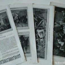 Coleccionismo de Revistas y Periódicos: REPORTAJE REVISTA ORIGINAL ANTIGUO. EL VIA-CRUCIS. Lote 174575118