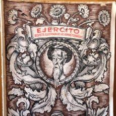 Coleccionismo de Revistas y Periódicos: EJERCITO- REVISTA ILUSTRADA- ESPECIAL DEDICADO A CERVANTES- 1.947. Lote 174589089