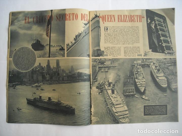 Coleccionismo de Revistas y Periódicos: REVISTA SEMANA Nº NÚMERO 9 / 23 ABRIL 1940 NARVIK SEGUNDA 2 GUERRA MUNDIAL - Foto 3 - 174623987
