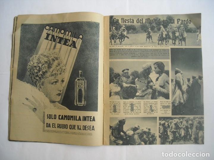 Coleccionismo de Revistas y Periódicos: REVISTA SEMANA Nº NÚMERO 9 / 23 ABRIL 1940 NARVIK SEGUNDA 2 GUERRA MUNDIAL - Foto 4 - 174623987