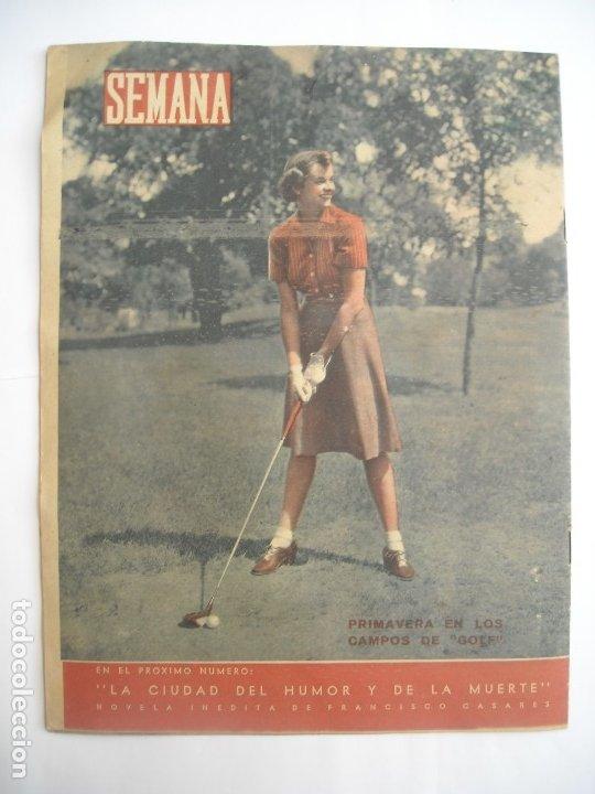 Coleccionismo de Revistas y Periódicos: REVISTA SEMANA Nº NÚMERO 9 / 23 ABRIL 1940 NARVIK SEGUNDA 2 GUERRA MUNDIAL - Foto 7 - 174623987