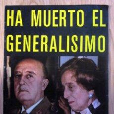 Coleccionismo de Revistas y Periódicos: HA MUERTO EL GENERALISIMO MUERTE FRANCISCO FRANCO CAUDILLO REVISTA SEMANA 1975 POSTER JANE BIRKIN. Lote 174839747