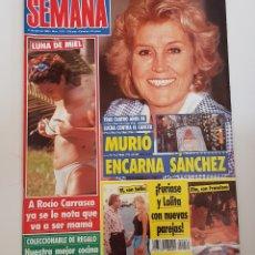 Coleccionismo de Revistas y Periódicos: REVISTA SEMANA. Nº 2931. 17 DE ABRIL DE 1996. MURIO ENCARNA SANCHEZ TRAS 4 AÑOS DE LUCHA.TDKR64. Lote 174908874
