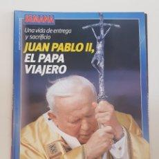 Coleccionismo de Revistas y Periódicos: REVISTA SEMANA. SUPLEMENTO AL Nº 3299. 7 MAYO 2003. JUAN PABLO II. EL PAPA VIAJERO. TDKR64.. Lote 174911325
