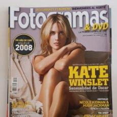 Coleccionismo de Revistas y Periódicos: REVISTA FOTOGRAMAS. AÑO 62. Nº 1983. ENERO 2009. KATE WINSLET. SENSUALIDAD DE OSCAR. TDKR64. Lote 174912997
