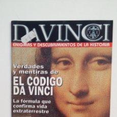 Coleccionismo de Revistas y Periódicos: DA VINCI. ENIGMAS Y DESCUBRIMIENTOS DE LA HISTORIA. Nº 1. MAYO JUNIO 2006. TDKR28. Lote 174919743