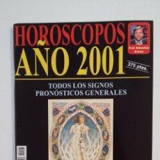 Coleccionismo de Revistas y Periódicos: HOROSCOPOS AÑO 2001. ROSER LLAURADO. TODOS LOS SIGNOS. COLECCION CIENCIAS OCULTAS TDKR28. Lote 174920069