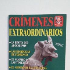 Coleccionismo de Revistas y Periódicos: CRIMENES EXTRAORDINARIOS. COLECCION CIENCIAS OCULTAS. TDKR28. Lote 174920730