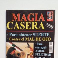 Coleccionismo de Revistas y Periódicos: MAGIA CASERA. PARA OBTENER SUERTE. CON EL MAL DE OJO. COLECCION CIENCIAS OCULTAS. TDKR28. Lote 174921293