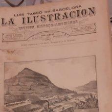 Coleccionismo de Revistas y Periódicos: LA ILUSTRACION REVISTA HISPANO AMERICANA 1889 13 ENERO NUMERO 428. Lote 174988343