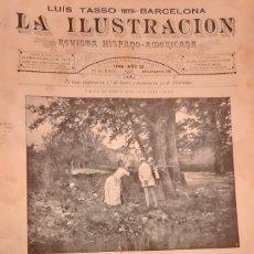 Coleccionismo de Revistas y Periódicos: LA ILUSTRACION REVISTA HISPANO AMERICANA 1889 27 ENERO NUMERO 430. Lote 174988647