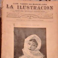 Coleccionismo de Revistas y Periódicos: LA ILUSTRACION REVISTA HISPANO AMERICANA 1889 3 FEBERERO NUMERO 431. Lote 174989435