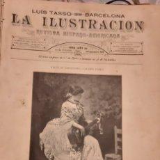 Coleccionismo de Revistas y Periódicos: LA ILUSTRACION REVISTA HISPANO AMERICANA 1889 10 FEBRERO NUMERO 432. Lote 174989535