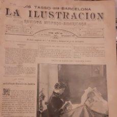 Coleccionismo de Revistas y Periódicos: LA ILUSTRACION REVISTA HISPANO AMERICANA 1889 17 FEBRERO NUMERO 433. Lote 174989675