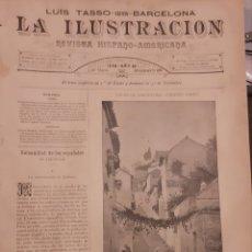 Coleccionismo de Revistas y Periódicos: LA ILUSTRACION REVISTA HISPANO AMERICANA 1889 3 MARZO NUMERO 435. Lote 174993683