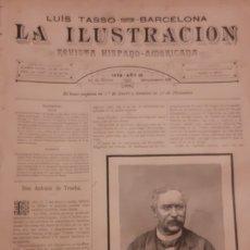Coleccionismo de Revistas y Periódicos: LA ILUSTRACION REVISTA HISPANO AMERICANA 1889 24 MARZO NUMERO 438. Lote 174993755