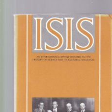 Coleccionismo de Revistas y Periódicos: ISIS - VOLUME 82 - NUMBER 312 / JUNE 1991 - A JOURNAL OF THE HISTORY OF SCIENCE SOCIETY. Lote 175017009