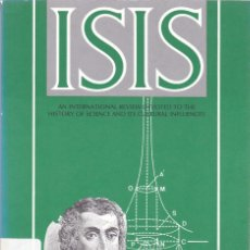 Coleccionismo de Revistas y Periódicos: ISIS - VOLUME 82 - NUMBER 311 / MARCH 1991 - A JOURNAL OF THE HISTORY OF SCIENCE SOCIETY. Lote 175017115
