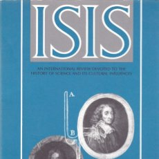 Coleccionismo de Revistas y Periódicos: ISIS - VOLUME 81 - NUMBER 309 / DECEMBER 1990 - A JOURNAL OF THE HISTORY OF SCIENCE SOCIETY. Lote 175017278